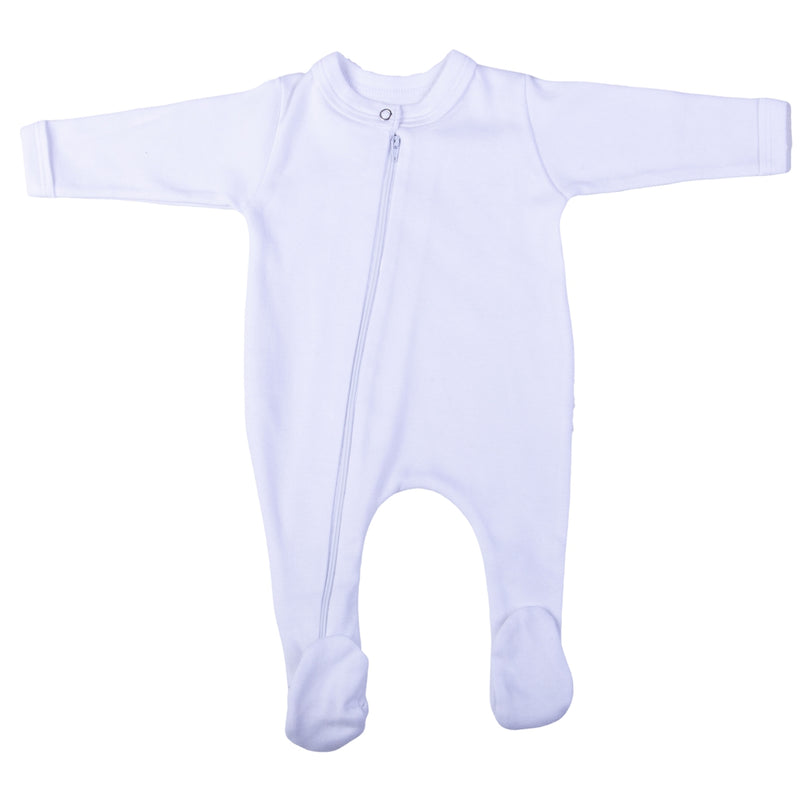 Top to Toe Zipper Onesie (0-3 Months)