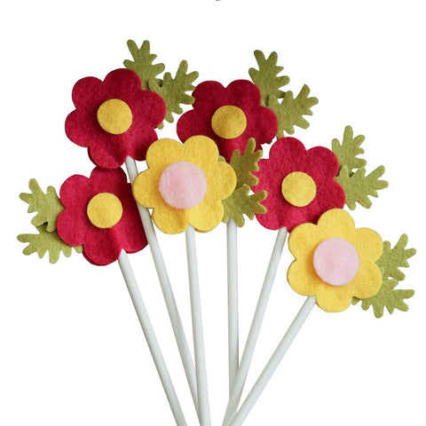 Flower Toppers<br>Set of 10