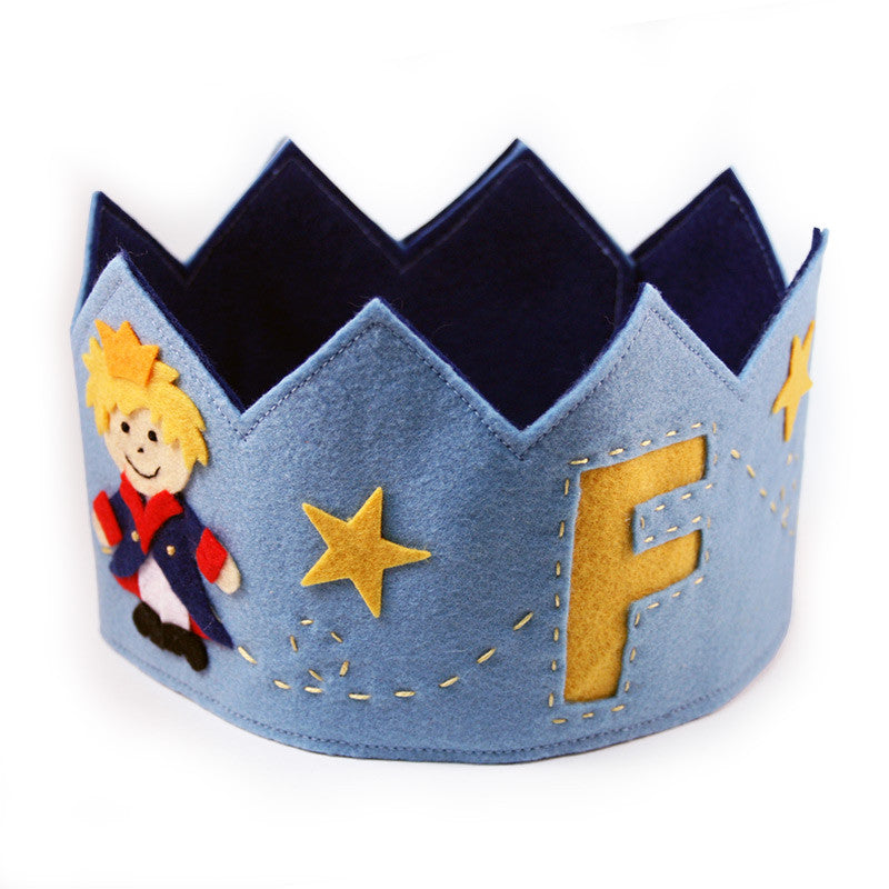 Little Prince Felt Crown