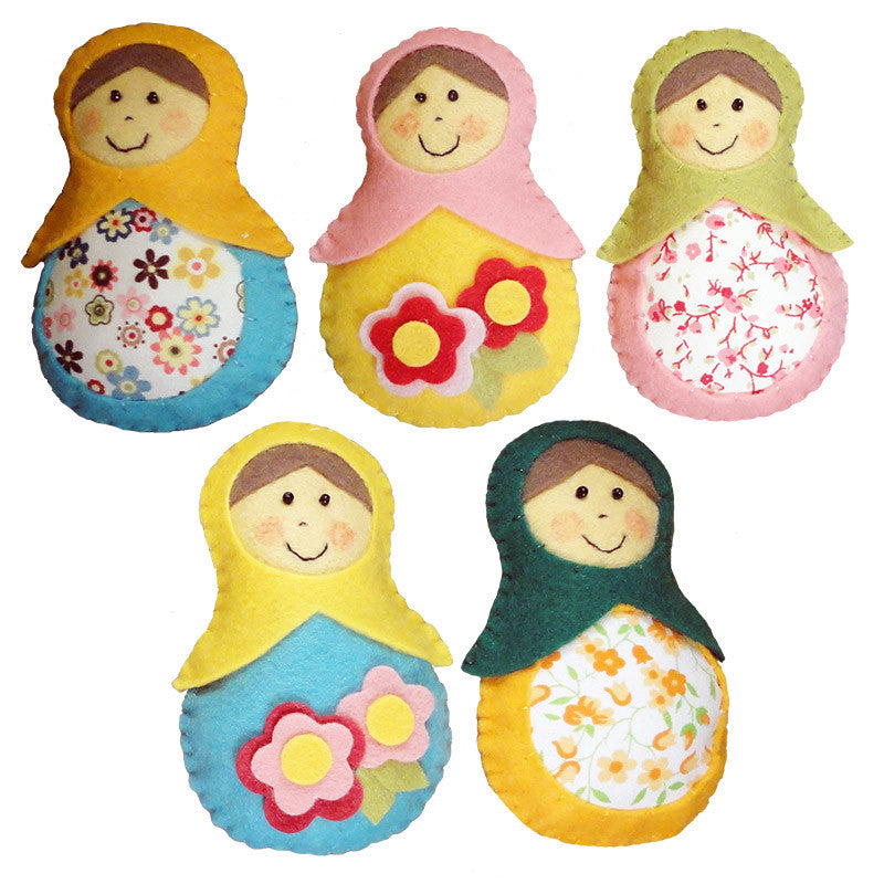 Key Chains<br>Nina, Set of 5