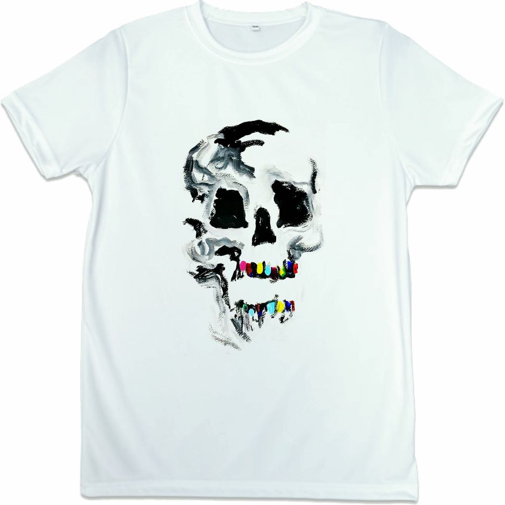 Playera Dientes de Color Dama