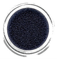 Nail Colour Pearls Black