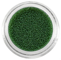 Nail Colour Pearls Green