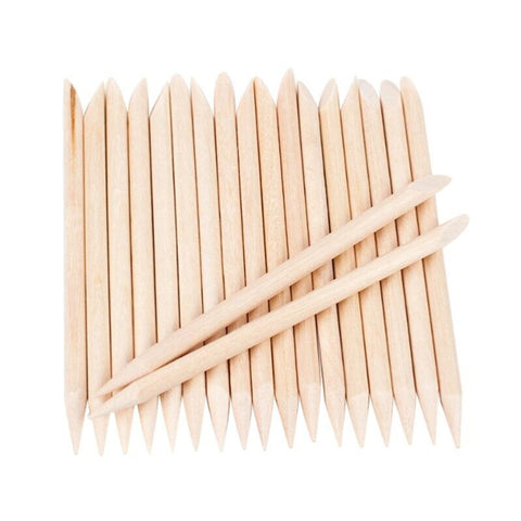 Wooden Cuticle Sticks 100Pcs/Bag