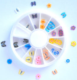 Nail Art Slice Fimo-Kit