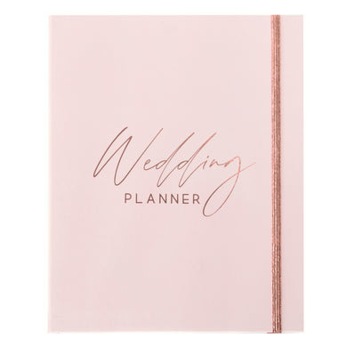 Wedding Planner with Gift Box | Pink & Rose Gold - Simply Wedding Planners