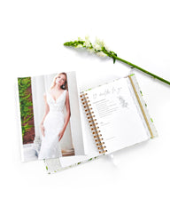 Wedding Planner with Gift Box | White & Flowers