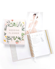 Wedding Planner with Gift Box | Wild Flowers