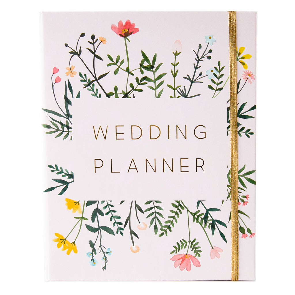 Wedding Planner with Gift Box | Wild Flowers - Simply Wedding Planners