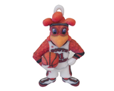 Cocky Basketball Ornament