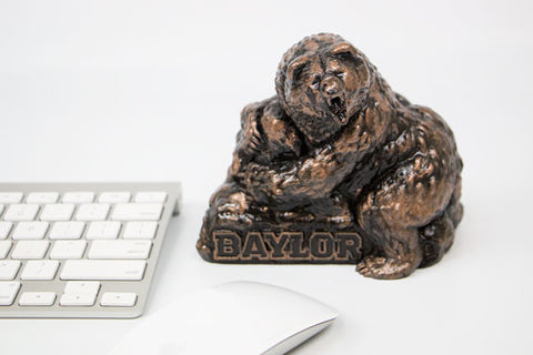 Baylor Bears Bronze Rock Statue