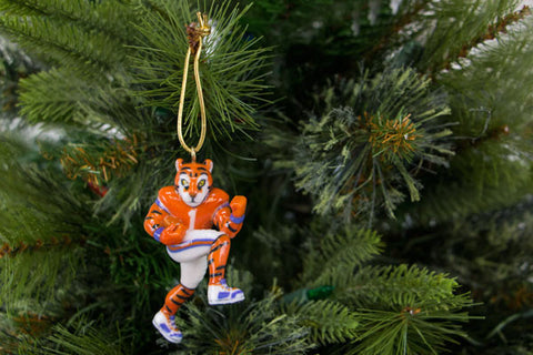 Clemson Tiger Mascot Ornament