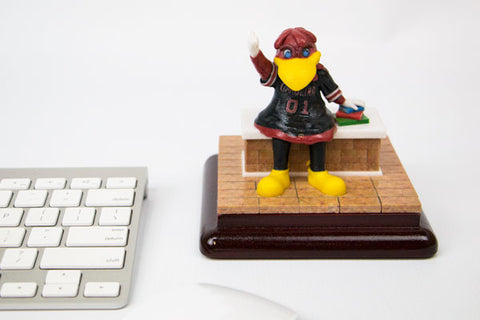 Full-color Cocky Mini-Statue