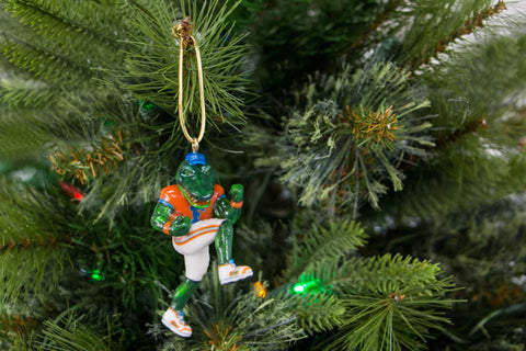 Florida Albert the Gator Mascot Ornament