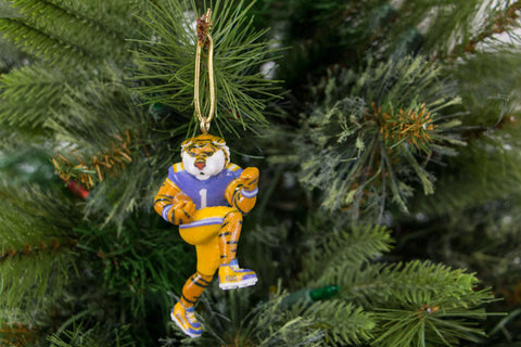 LSU Mike the Tiger Mascot Ornament