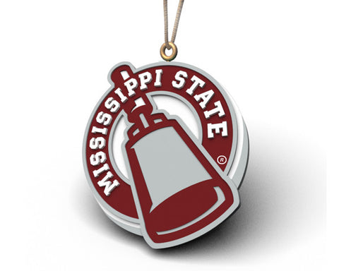 Mississippi State Cowbell Ornament