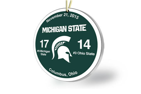 Michigan State Victory Ornament 2015 (vs. Ohio State)