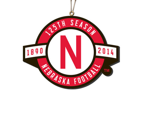 Nebraska 125 Years Ornament