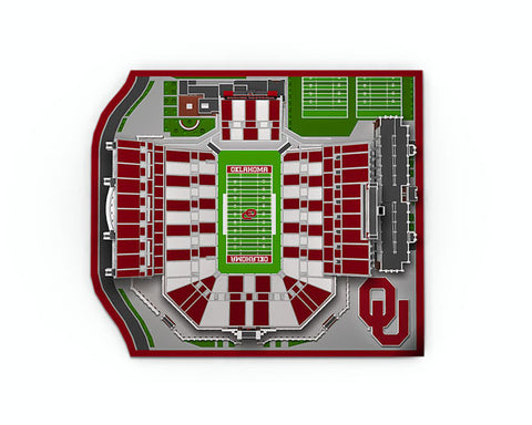 Oklahoma University Memorial Stadium 2015