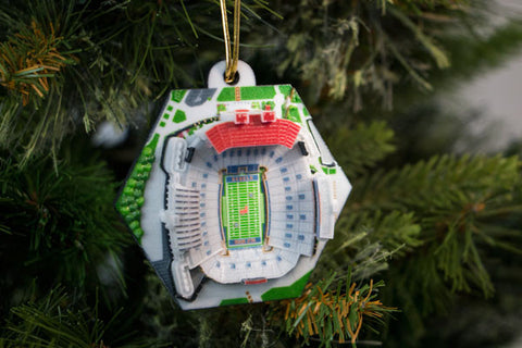 Ole Miss Stadium Ornament 2016