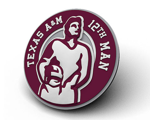 Texas A&M 12th Man Logo Magnet