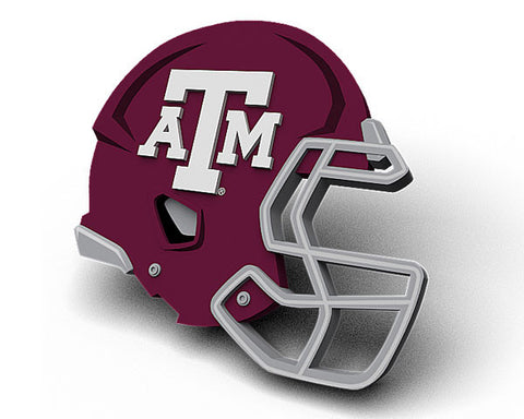 Texas A&M Helmet Magnet