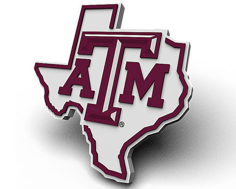 Texas A&M State Outline Logo Magnet
