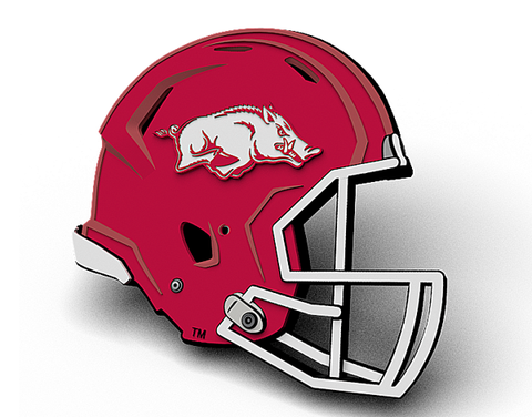 Arkansas Updated Football Helmet Magnet