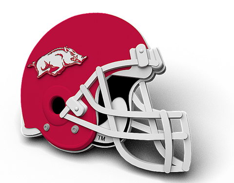 Arkansas Classic Football Helmet Magnet