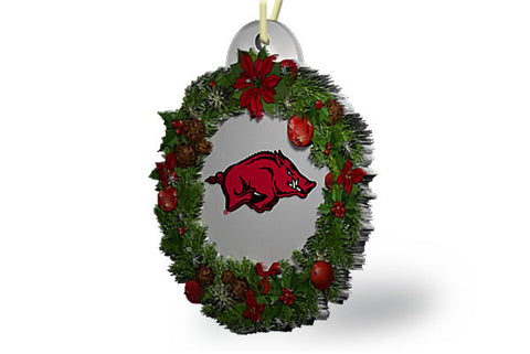 Arkansas Wreath Ornament