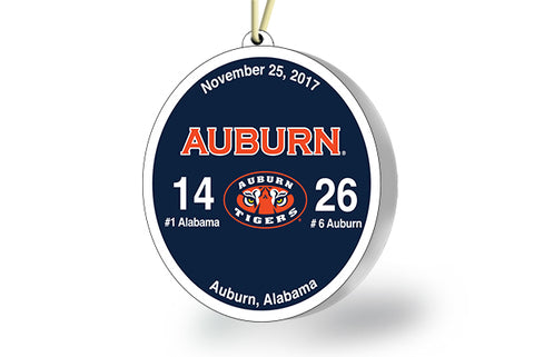 Auburn Victory Ornament 2017 (vs Alabama)