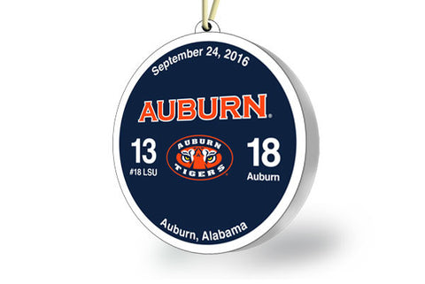 Auburn Victory Ornament 2016 (vs LSU)