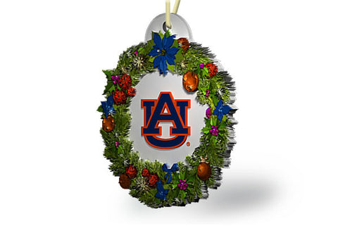 Auburn Wreath Ornament