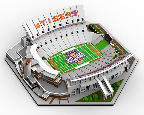 Clemson Memorial Stadium - National Championship Limited Edition