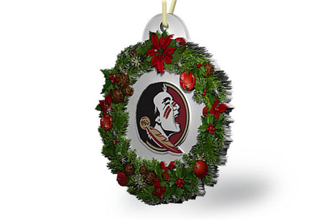 Florida State Wreath Ornament