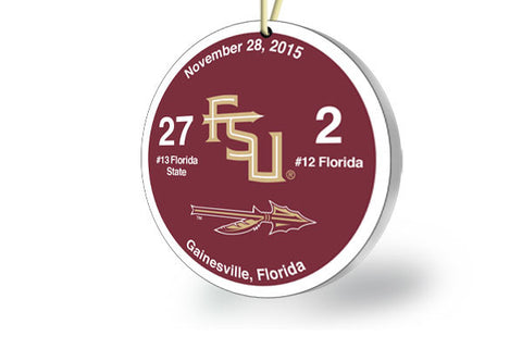 Florida State Victory Ornament 2015 (vs. Florida)