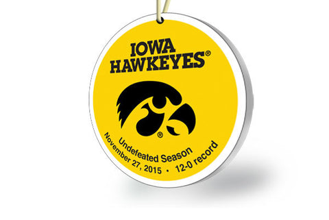Iowa Undefeated Ornament