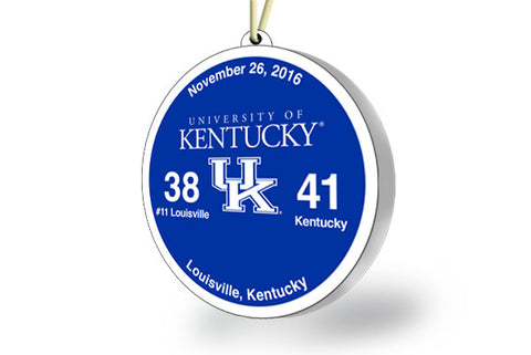 Kentucky Victory Ornament 2016 (vs. Louisville)