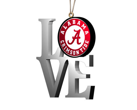 "Alabama ""Love"" Ornament"