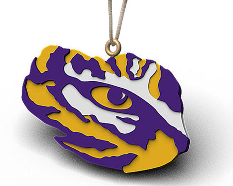 LSU Tiger Eye Ornament