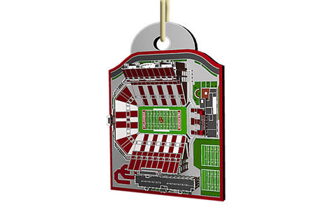 Oklahoma Stadium Ornament 2015