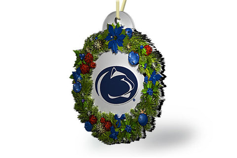 Penn State Wreath Ornament