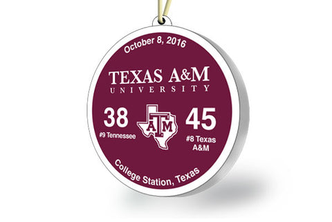 Texas A&M Victory Ornament 2016 (vs. Tennessee)