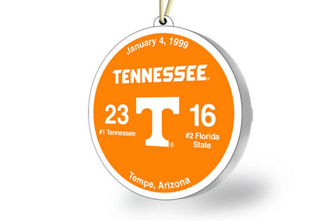 Tennessee Throwback Ornament 1999 (vs. Florida State)