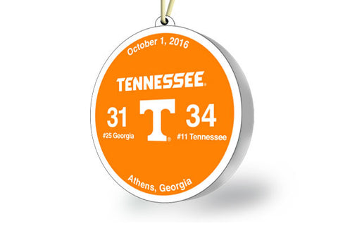 Tennessee Victory Ornament 2016 (vs. Georgia)