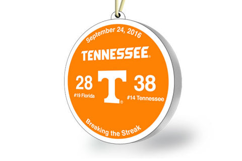 Tennessee Victory Ornament 2016 (vs. Florida)