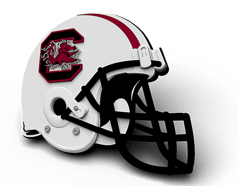 South Carolina Football Helmet Magnet