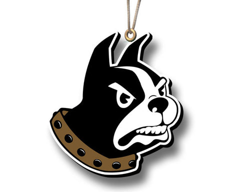 Wofford Terrier Mascot Ornament