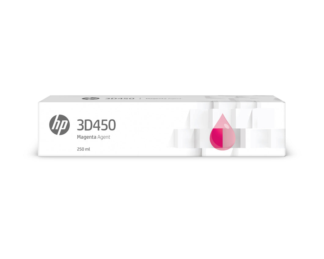 Hp Inc. Hp 3d450 250ml Magenta Agent