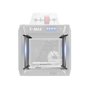QIDI TECH X-MAX  3D Printer  Large Size  High temperature  extruder  PC Nylon Carbon fiber